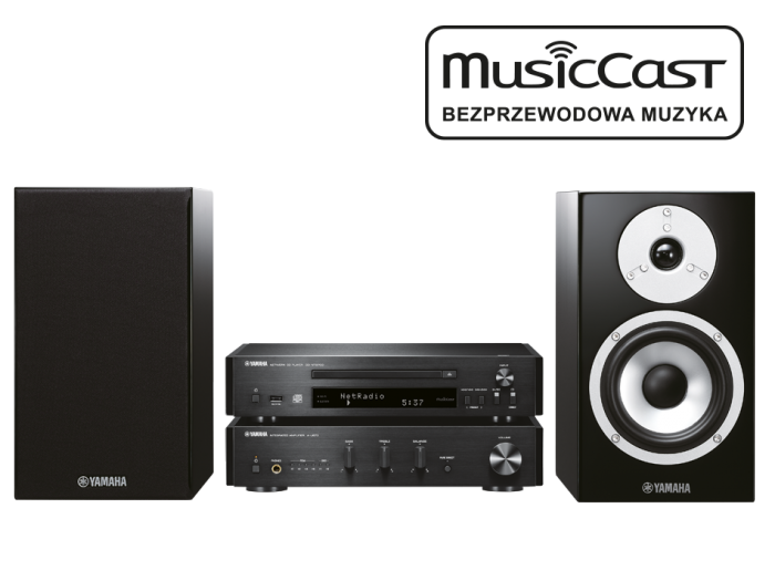 Yamaha Grand PianoCraft MusicCast MCR-N870D
