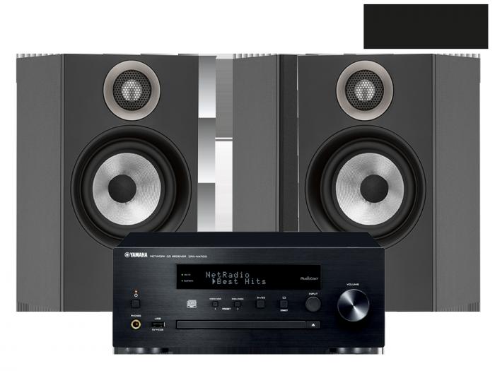 Yamaha MusicCast PianoCraft MCR-N470D + B&W 607