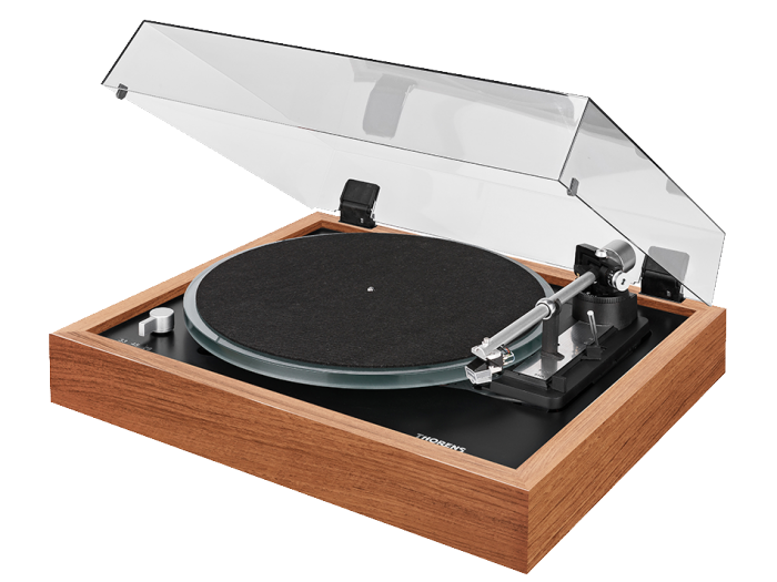 Thorens TD 148A piano walnut