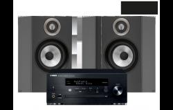 MusicCast PianoCraft MCR-N470D + B&W 607