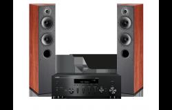Zestaw stereo - amplituner sieciowy Yamaha R-N602 + Kolumny Indiana Line Tesi 560