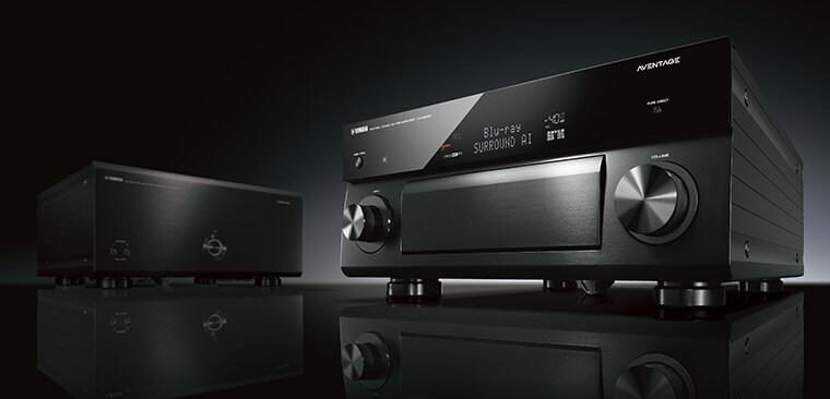 procesor AV Yamaha MusicCast CX-A5200 i wzmacniacz mocy Yamaha MX-A5200