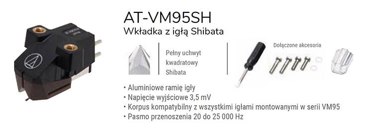 Audio - Technica AT-VM95SH
