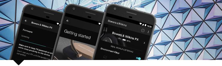 Bowers & Wilkins PX wszechstronna aplikacja