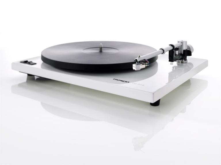 Gramofon Thorens TD 203 (piano biały)