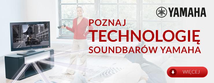 Technologia soundbarów Yamaha